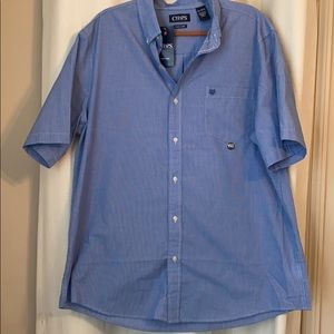 Chaps easy care collared button down